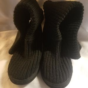 UGG Cardy Black Boots SZ 10